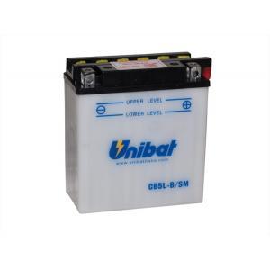 Batérie štandard Unibat CB5L-B, 12V 5Ah