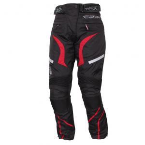 Moto nohavice RSA Devil dámske červené
