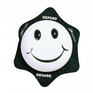 Universální kolenní slidery Oxford Smiler bílé