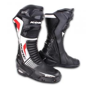 Topánky na motorku Kore Sport čierno-bielo-červené