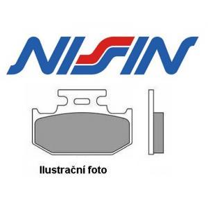Brzdové doštičky predné Nissin 2p267 ST výpredaj