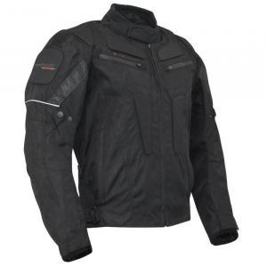 Bunda na motorku Roleff Riga čierna vypredaj
