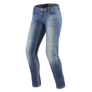 Dámske jeansy na moto Revit Westwood SF modré výpredaj