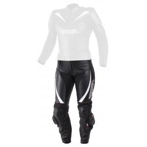 Dámske nohavice na motorku RSA Destiny 2 čierno-biele