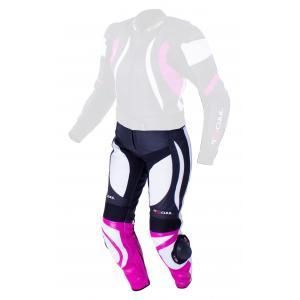 Dámske nohavice Tschul 546 čierno-bielo-ružové