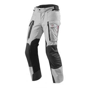 Nohavice na motorku Revit Sand 3 strieborné výpredaj