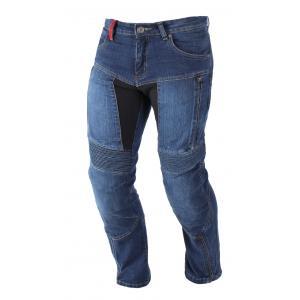 Kevlarové džínsy na motorku Ayrton 505 modré