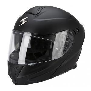 Prilba na motorku výklopné Scorpion EXO-920 čierna matná
