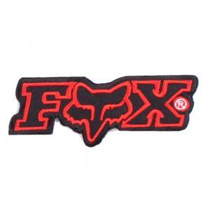 Nášivka a nažehlovačka Fox červená