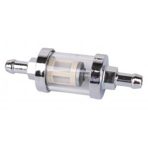 Palivový filter R-TECH chrómový 8mm