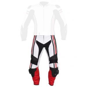Pánske nohavice Tschul 555 bielo-čierno-červená