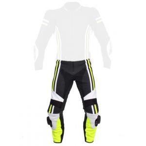 Pánske nohavice Tschul 555 čierno-bielo-fluo žlté