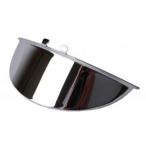 Štítok na svetlo R-TECH chrómový 220 mm
