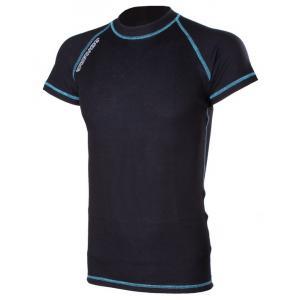 Termo tričko RSA Heat čierno-modré krátký rukáv