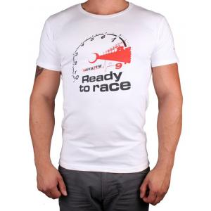 Tričko s motívom Motozem Ready to race bielej