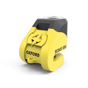 Zámok kotúčové brzdy Oxford Scoot XD5 - žlto / čierny