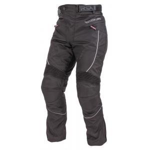 Skrátené moto nohavice RSA Devil pánske čierne