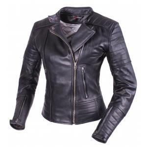 Dámska bunda na motocykel Tschul 655 čierna