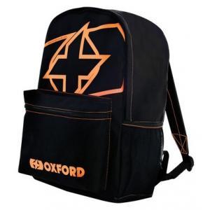 Batoh Oxford X-Rider čierno-fluo oranžový