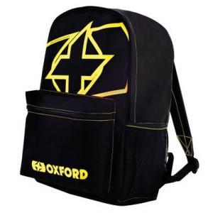 Batoh Oxford X-Rider čierno-fluo žltý