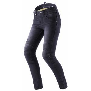 Dámske jeansy na motocykel Street Racer Spike II CE čierne