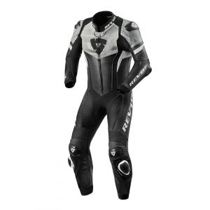 Jednodielna kombinéza na motorku Revit Hyperspeed čierno-biela