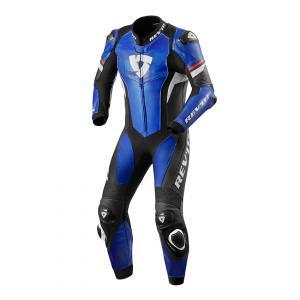 Jednodielna kombinéza na motorku Revit Hyperspeed modro-čierna