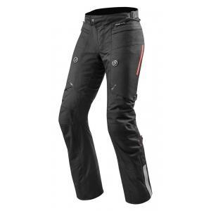 Nohavice na moto Revit Horizon 2 čierne skrátenej