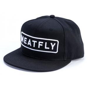 Šiltovka Meatfly Spon čierna