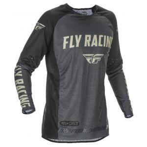 Motokrosový dres FLY Racing Evolution 2021 čierno-šedý výpredaj