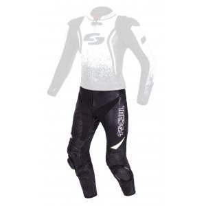Pánske nohavice Tschul 585 čierno-biele