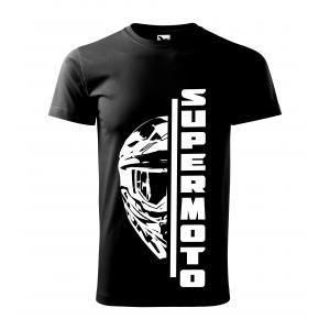 Pánske tričko SUPERMOTO čierne