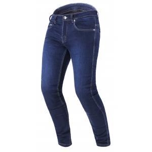Predĺžené jeansy na motocykel RSA Route CE modré