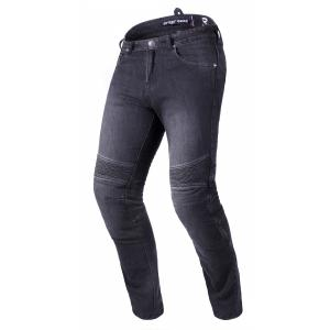 Predĺžené jeansy na motocykel Street Racer Warior CE čierne
