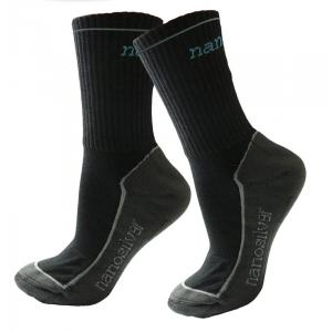 Termo ponožky nanosilver® čierne