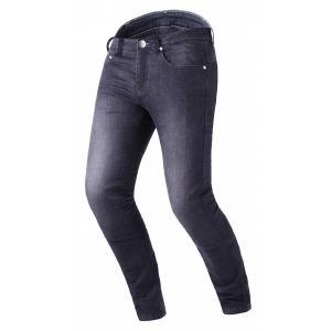 Skrátené jeansy na motocykel RSA Route CE čierne