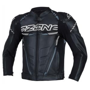Bunda na motocykel Ozone RS600 čierno-biela