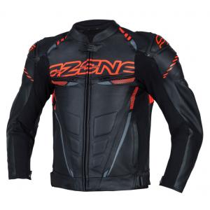 Bunda na motocykel Ozone RS600 čierno-oranžová