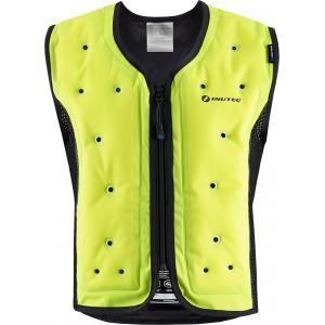 Chladiaca vesta na motocykel Inuteq Bodycool Smart fluo žltá