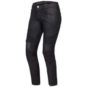 Dámske jeansy na motocykel Ozone Roxy čierne