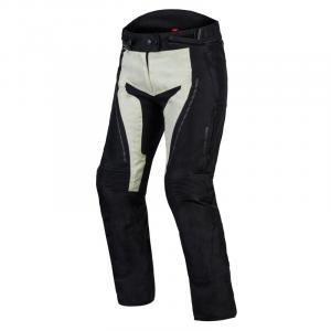 Dámské moto nohavice Rebelhorn Hiker III čierno-sivé