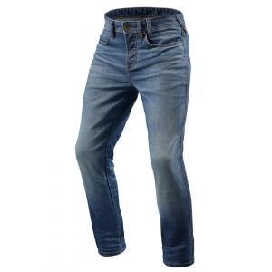Jeansy na motocykel Revit Piston modré skrátenej výpredaj