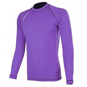 Termo tričko RSA Heat fialové dlhý rukáv výpredaj