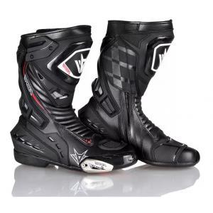 Topánky na motocykel RSA GP-01 čierne
