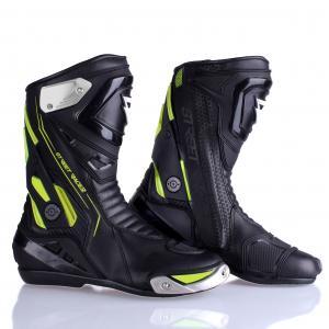 Topánky na motocykel Street Racer GTR černo-fluo žluté