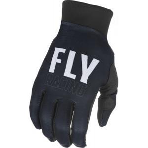 Motokrosové rukavice FLY Racing Pro Lite - USA bielo-čierne