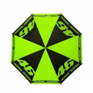 Skladací dáždnik VR46 Valentino Rossi Doctor čierno-fluo žltý