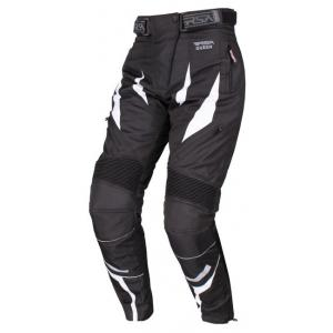 Dámske nohavice na moto RSA Queen čierno-biele