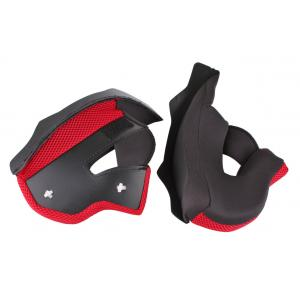 Lícnicovej výstelky pre prilby na motorku RSA TR-01 - červené výpredaj