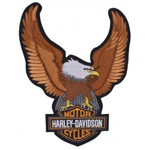 Nášivka Orel Harley Davidson - veľká